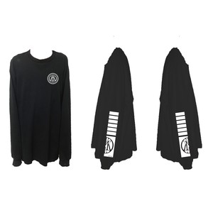 MIYAKO Logo Long Tee (Black)
