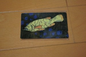 ICカードステッカー「魚」
