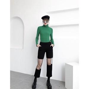 see-through knee pants