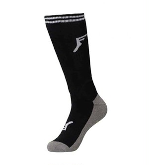 FP PAINKILLER SHIN KNEE HI SOCKS BAMBOO BLACK サイズ6~9→24㎝〜27㎝