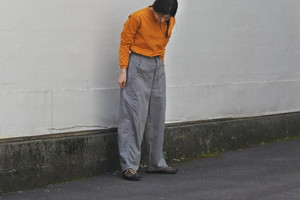 【ORDINARY FITS】JAMES PANTS 20AW