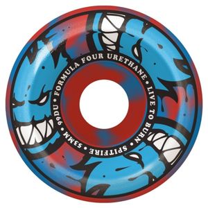 SPITFIRE / F4 / Conical Full / AFTERBURN  / Blue/Red /  53mm / 99d