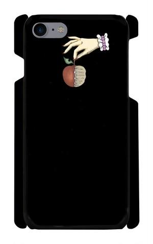 [7]iPhoneケース死んでるリンゴ死んでるリンゴ赤
