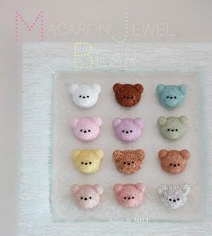 macaron jewel bear