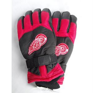 デトロイト レッドウィングス DETROIT RED WINGS NHL THINSULATE 手袋 グローブ 1417