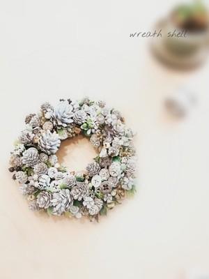 Dry materials wreath ・ナッツいっぱい