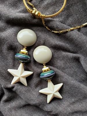 graige × gold × khaki&navy × ivory star  《再販なし》