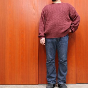 80s MEMBERS ONLY cotton knit sweater