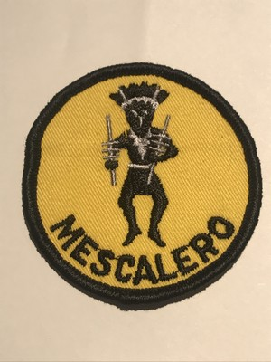 "OLD Patch""MESCALERO"""