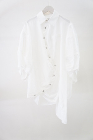 MICKEY SHILOUETTE BALL SHIRTS -WHITE- / MAISON CIRCLE by ANREALAGE