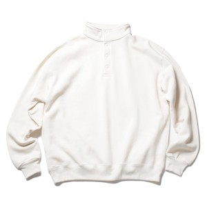 SO ORIGINAL SNAP PULLOVER SWEAT (CREAM)