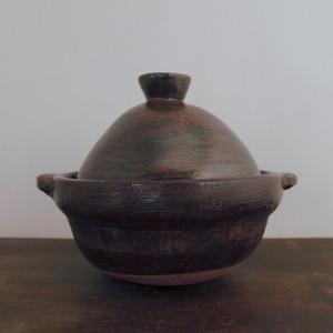 土鍋 丸底煮鍋(中)
