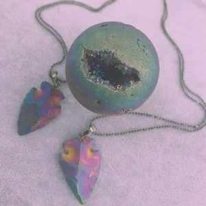 "<賢者の石>Necklace ""galaxy"" color"