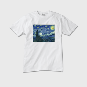 The Starry Night White