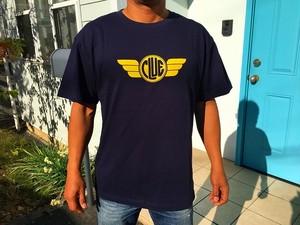 CLUEロゴTシャツ