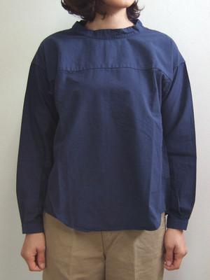 Brocante トレットマンシャツ ネイビー ブロカント ドミンゴ 36-103X 29-2 バックボタン ヴィンテージシャンブレー コットンタイプライター 切替 長袖 MadeinJAPAN 日本製