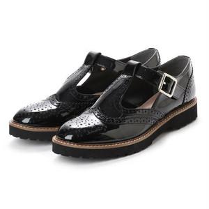 ※予約 Tstrap shoes / black【PURPOSE】