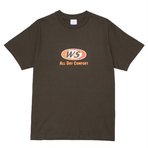 WHIMSY / ALL DAY COMFORT TEE -BROWN-