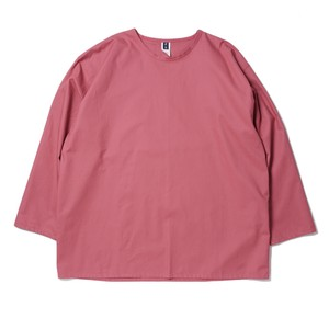 SMOKE T ONE COTTON L/S T-SH(Deep Rose)