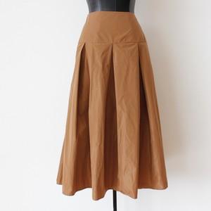 ITALY マイクロタフタ切替フレアースカート:SIX-0818 ¥14,000+tax
