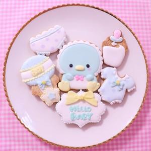 ペンギン赤ちゃんアイシングクッキーセット♡
