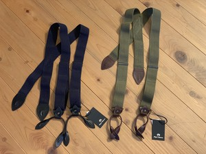 """US ARMY SUSPENDER"" / Nigel Cabourn"