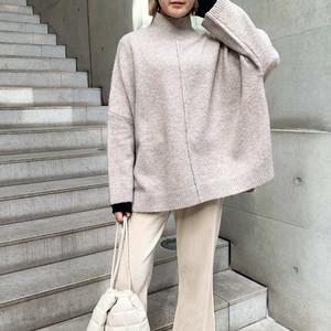 ★【即納・送料無料】リラクシーハイネックセーター