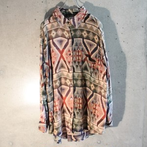 Rayon Cotton Jacquard Shirt