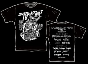 JAPANESE ASSAULT FEST 18 限定Tシャツ