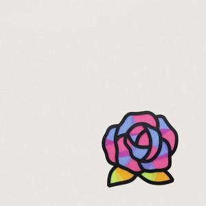 ペーパーステンドグラス手作りキット(バラ)