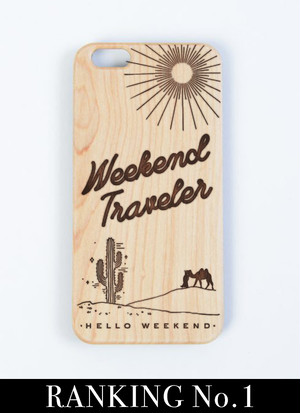 Wood iPhone Case - Weekend Traveler