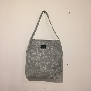 BIRDS' WORDS(バーズワーズ)/ PATTERNED TOTE(パターンドトート・ブルーグレー)