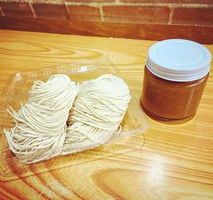 あしやの塩ダレ【小】+あしやの麺2個