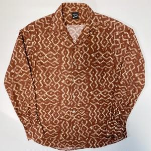 BAGUTTA(バグッタ) 総柄デザインシャツ
