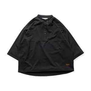 TIGHTBOOTH KANOKO BAND COLLAR T-SHIRT L BLACK
