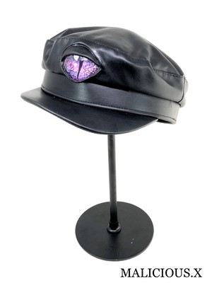 reptiles(D) eye  military cap / purple