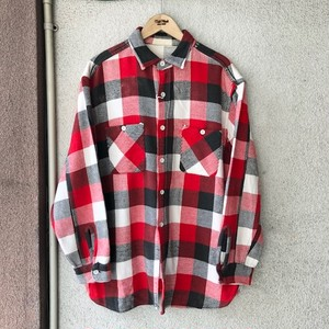1960's Vintage Flannel Shirt Size・Fit Like XL