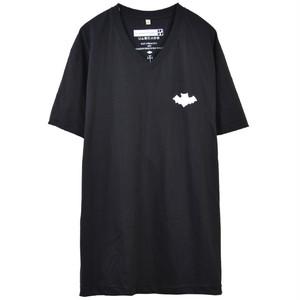 ドラキュラ伯爵 Vネック Tシャツ