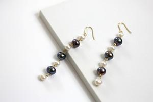 Freshwater pearl long bicolor
