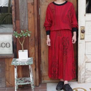 Paisley Pattern Dress / ペイズリー柄 ドレス