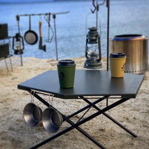 CAMP GEEKS Hexa-Table ミリタリーカーキ