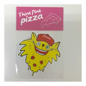 Tink Pink Pizza!stickrs(cat)