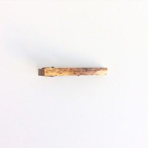 シングルリードのネクタイクリップ Reed necktie clip #1