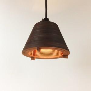 「バケット」木製ペンダントライト 照明 インテリア