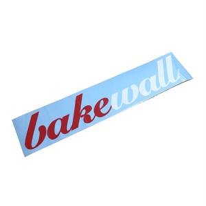BAKEWALL LOGO CUTTING STICKER 【XL】