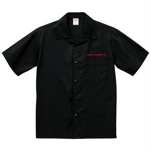 オープンカラーシャツ  EGA250  赤