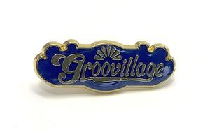 groovillage オリジナルピンバッジ