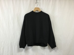 "MAISON EUREKA "" VINTAGE LIKE SWEAT SHIRT "" BLACK"
