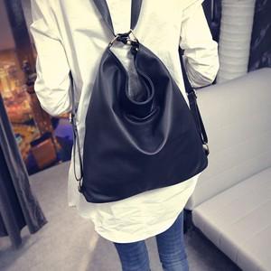 【バッグ】新作シンプルファッションPU両用バッグ