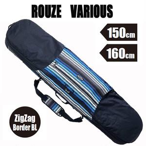 ROUZE 3WAYスノーボードバッグ VARIOUS ジグザグボーダーブルー スノーボードケース バックパック ショルダーバッグ